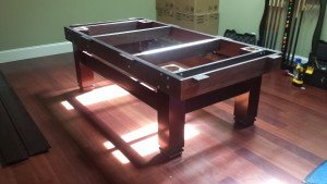 Correctly performing pool table installations, Hagerstown Maryland