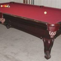 Olhausen Dona Marie Billiards Pool Table