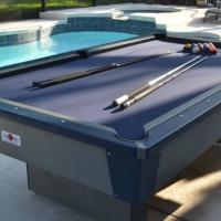 Outsider Pool Table