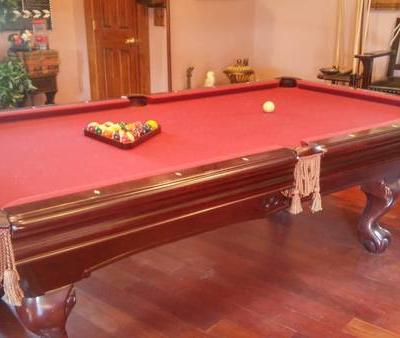 Brunswick 8ft Slate Pool Table