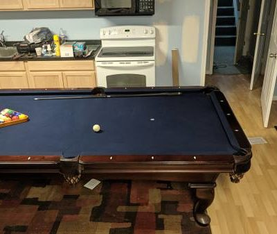 Olhausen Eight Foot Pool Table Like New