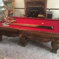 Pool Table Beautiful Piece